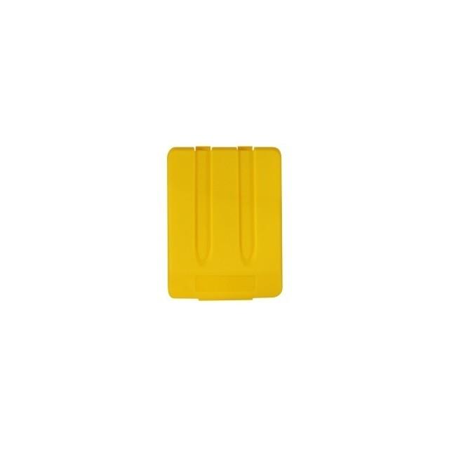 Merida prügikastikaas prügikonteinerile, kollane - Pesumati