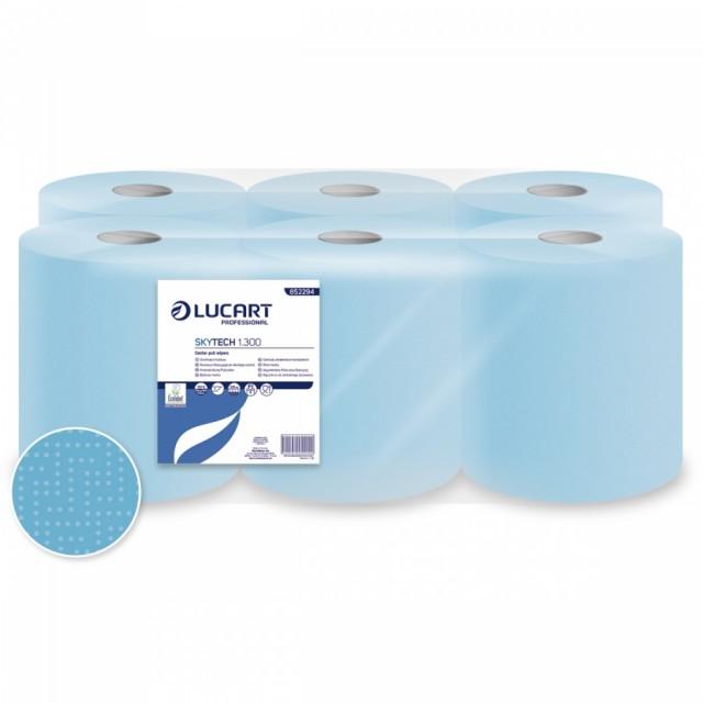 Lucart WP Skytech 1.300 blue paper towel roll - Pesumati