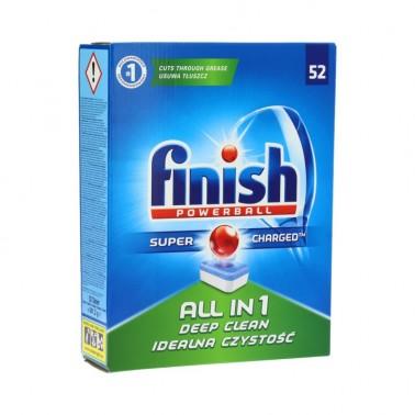 FINISH All-in-1 nõudepesutabletid, 100tk/pk - Pesumati
