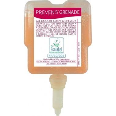 GOJO Preven's Grenade vedelseep kehale ja juustele 300ml - Pesumati