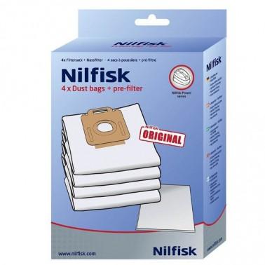 Nilfisk Select/Power seeria tolmukotid 4tk/pk - Pesumati