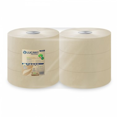 Lucart EcoNatural 350 Jumbo toilet paper - Pesumati