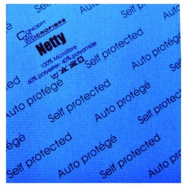 Concept mikrokiudlapp Netty antibakteriaalne, 40x40cm sinine - Pesumati