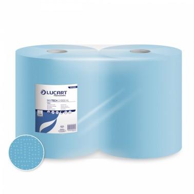 Lucart Skytech 2.1000 XL blue paper towel roll - Pesumati
