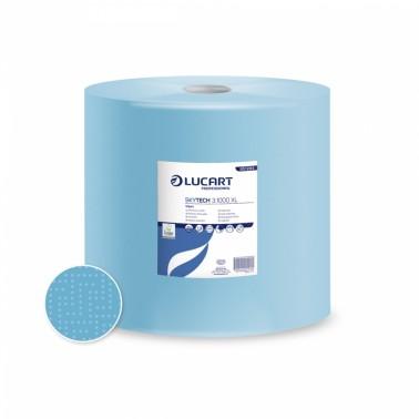 Lucart Skytech 3.1000 XL blue paper towel roll - Pesumati