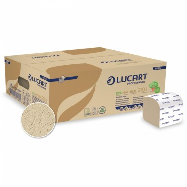 Lucart Econatural 210l toilet paper sheets - Pesumati