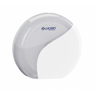 Lucart Identity Mini Jumbo tualettpaberi hoidik, valge - Pesumati