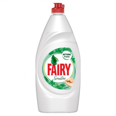 Fairy Sensitive Tea Tree & Mint 900ml nõudepesuvahend - Pesumati