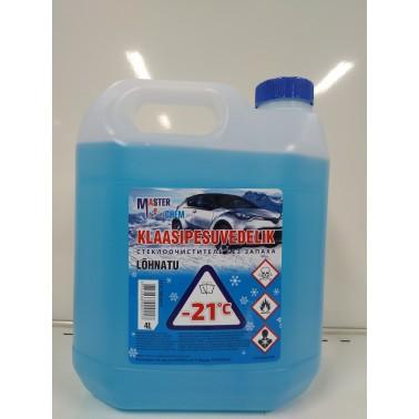 Masterchem klaasipesuvedelik -21C 4L, lõhnatu - Pesumati