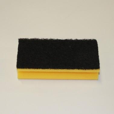 McLean musta abrasiiviga küürimissvamm 15cm - Pesumati
