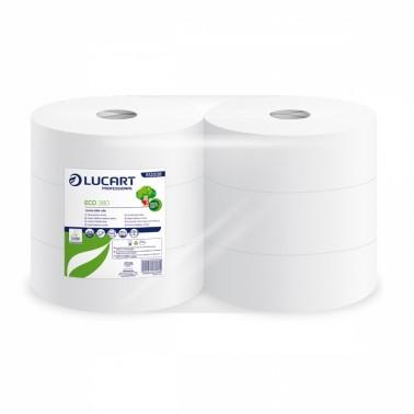 Lucart ECO 380 tualettpaber rullis 2x 8,5x24cm, 6rll/pk - Pesumati