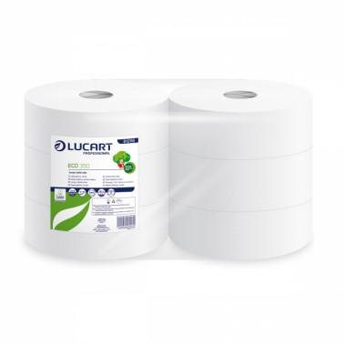 Lucart ECO 350 tualettpaber rullis 2x 8,5x24cm, 6rll/pk - Pesumati