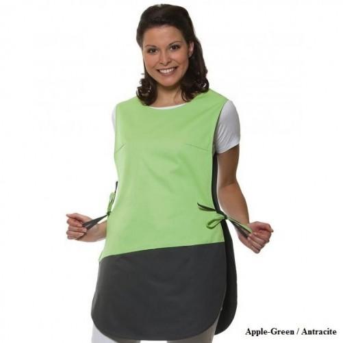 Tööpõll taskutega külgedelt seotav, roheline - Pesumati