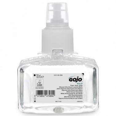 GOJO LTX Mild lõhnatu vahuseep 700ml - Pesumati