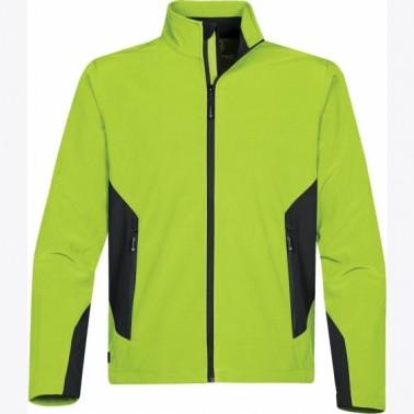 Stormtech Pulse meeste softshell jakk, kiivi/must L | Pesumati