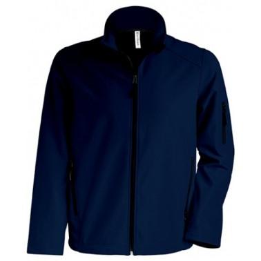 KARIBAN meeste softshell jakk, tumesinine XXL - Pesumati