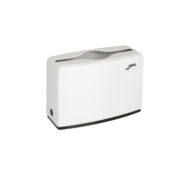 Jofel napkin dispenser, rectangular tabletop, white - Pesumati