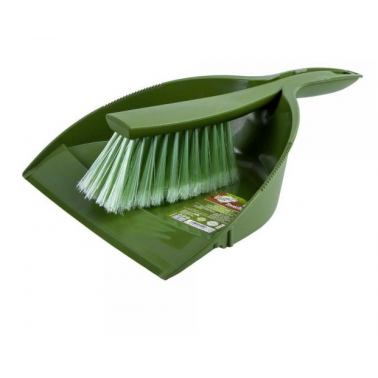 Ökoloogiline ümbertöödeldud plastist kühvli harja komplekt - Pesumati