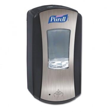 PURELL® LTX-12 touch-free dispenser, chrome/black - Pesumati