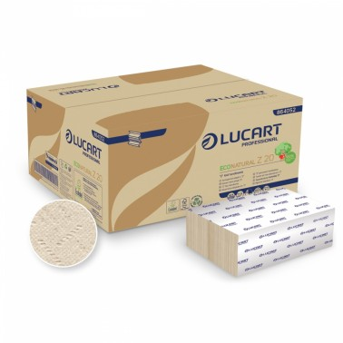 Lucart ECONATURAL Z20, folded paper towel - Pesumati
