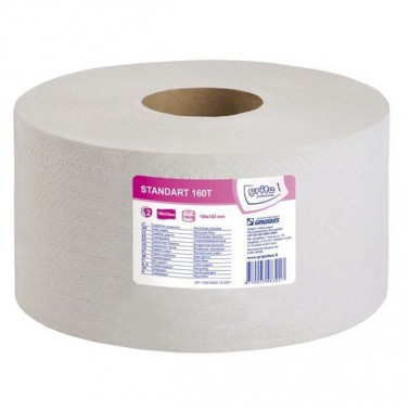 Grite Standart 160T tualettpaber, 2-kihiline - Pesumati