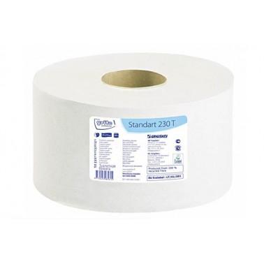 Grite Standart 230T tualettpaber, 1x 230m - Pesumati