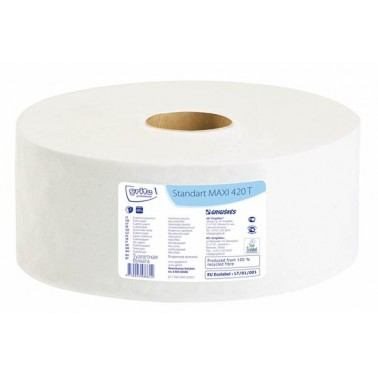 Grite Standart MAXI 420T tualettpaber, 1x 420m - Pesumati