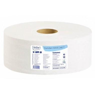 Grite Standart MAXI 340T tualettpaber, 2x 340m - Pesumati