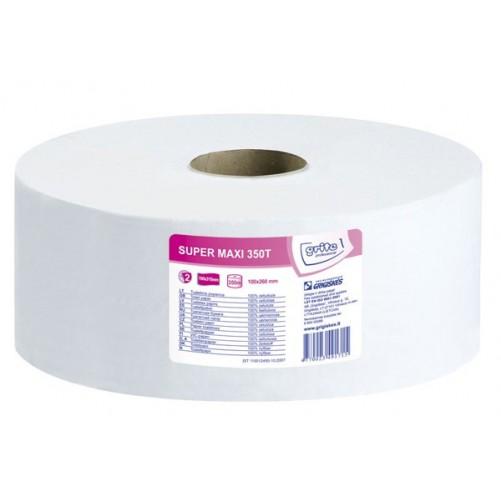 Grite Super MAXI 350T tualettpaber, 2x 350m - Pesumati