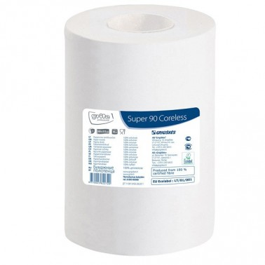 Grite Super 90 paper towel roll, coreless - Pesumati