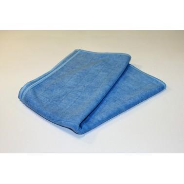 Ruuduline mikrolina, sinine 50x60cm - Pesumati