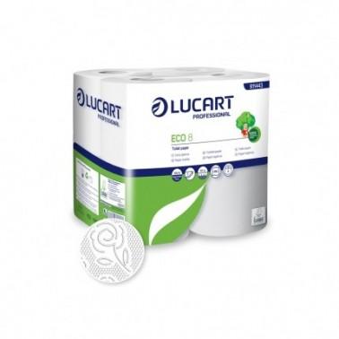 Lucart ECO 8 toilet paper, multipack 8 rolls - Pesumati