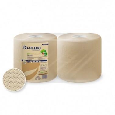 Lucart EcoNatural 800 paper towel roll, centerfeed - Pesumati