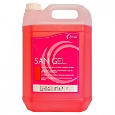 San Gel puhastusaine 5L - Pesumati