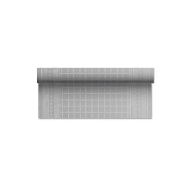 Laudlina 1P 1,20x7 damast, reljeefne, hõbe - Pesumati