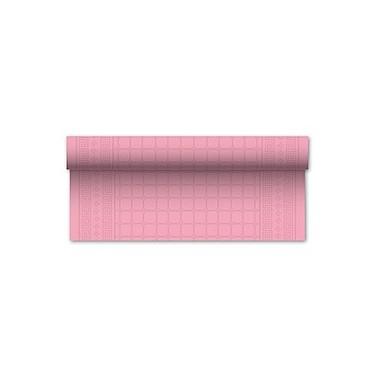 Laudlina 1P 1,20x7 damast, reljeefne, roosa - Pesumati